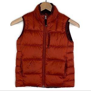 REI Boy's Puffer Down Vest Sz Small 8